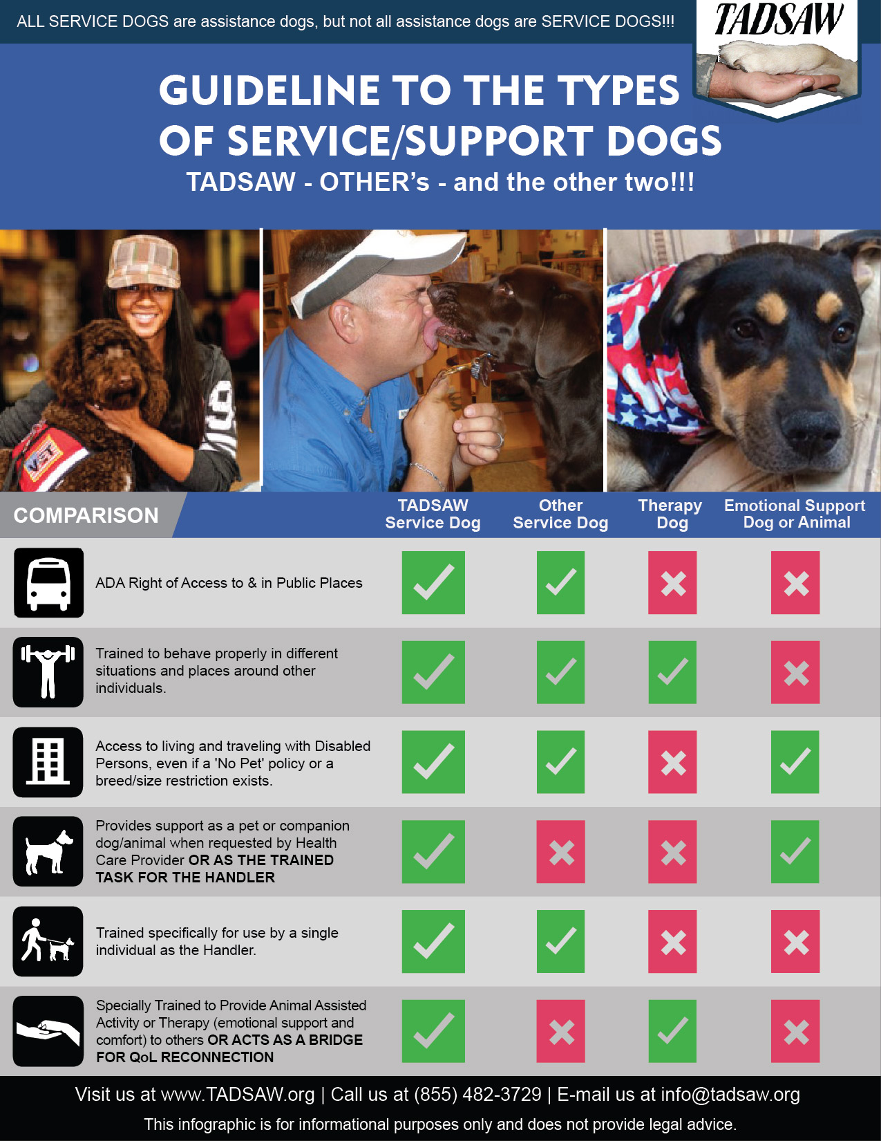 Psychiatric Hospitalizations And Service Dogs Tadsaw